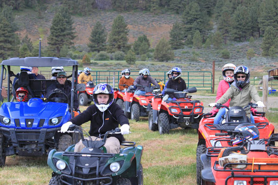 Gray Eagle Lodge: Enjoy ATVing in the Sierra Valley