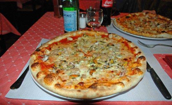 Da Paolo : pizza aux fruits de mer