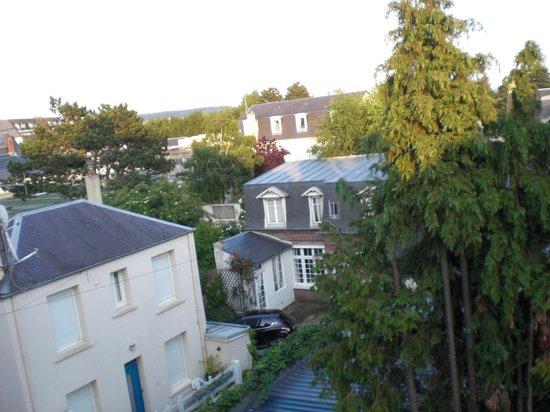 Hotel de La Cote Fleurie : Blick aus dem Hotelfenster