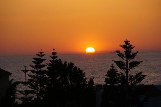 Iberostar Creta Marine : coucher de soleil vu de notre chambre