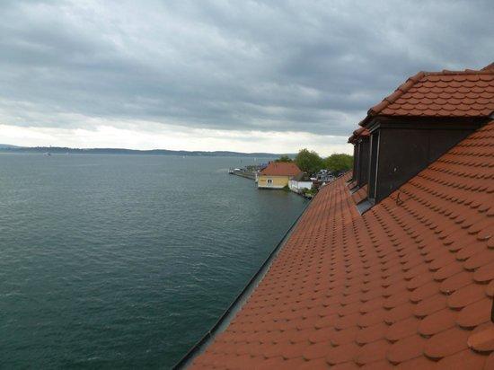 Hotel zum Schiff: view from room 302