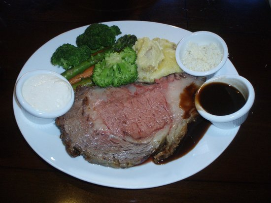 Siena at The Meritage Resort and Spa: Prime Rib