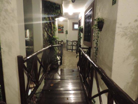 Hotel Boutique Posada Mariposa: Tercer piso, no hay elevador.
