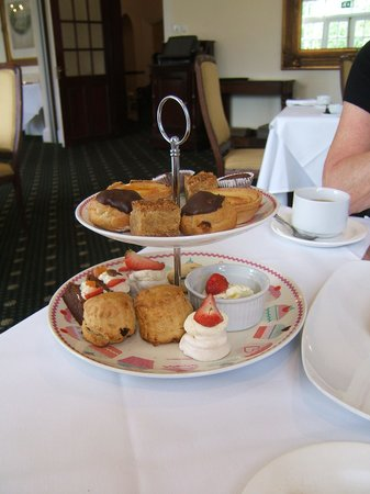 Afternoon Tea at Grovefield House: getting through it