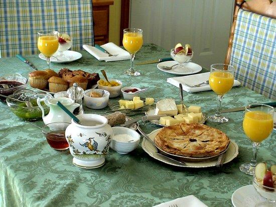 Gîte Chez France : Petit-déjeuner