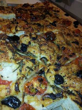The Tower Gastro Pub - Apartments: freshly made foccacia..