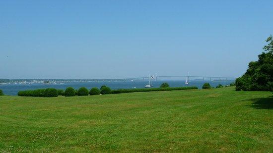 Newport, Rhode Island: bridge from Castle HIll Inn