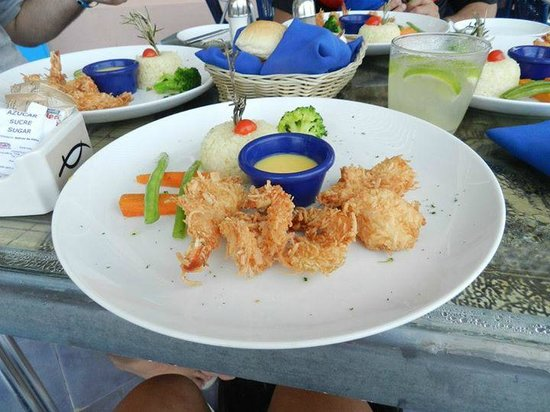 Golden Parnassus All Inclusive Resort & Spa Cancun: Restaurante frutos do mar