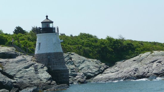 Castle Hill Lighthouse : from the water