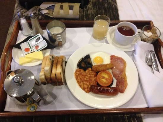 Best Western Plus Mosborough Hall Hotel: Cooked breakfast very nice