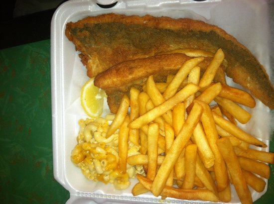 Untouch'd Grill: Whiting Dinner with Lazy Fries.....