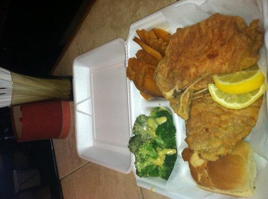 Untouch'd Grill: Pork Chop Dinner