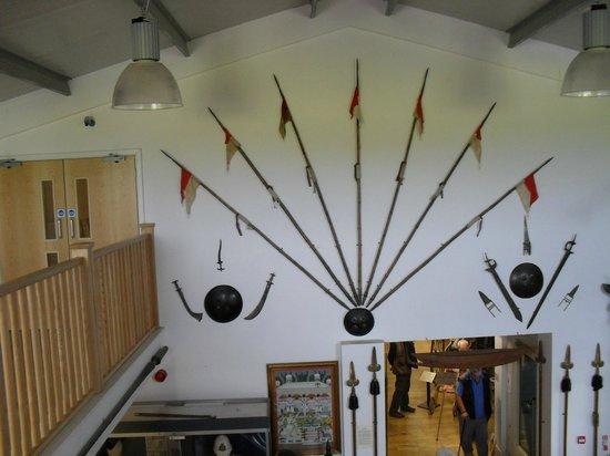 Stratford Armouries Museum: Lances.