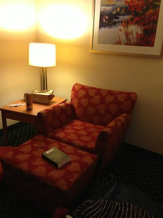Comfort Inn & Suites : zitje