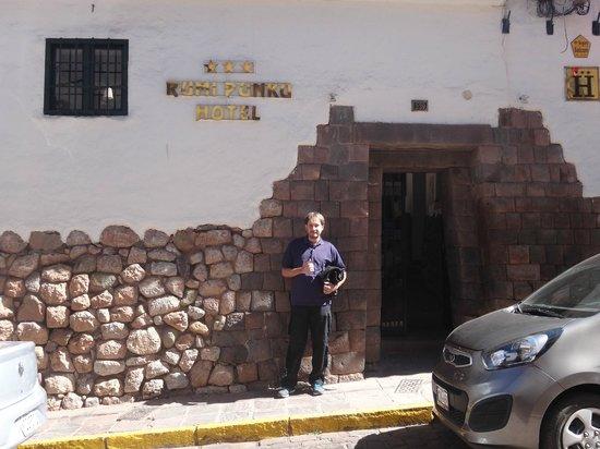 Hotel Rumi Punku: Entrada do Hotel