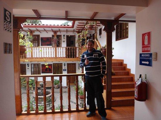 Hotel Rumi Punku: Corredor 2º andar