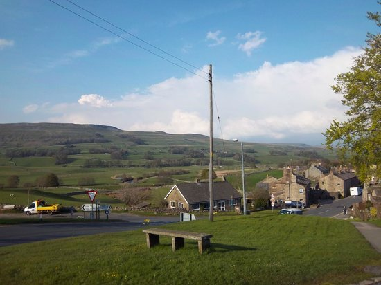 YHA Hawes: View over the town