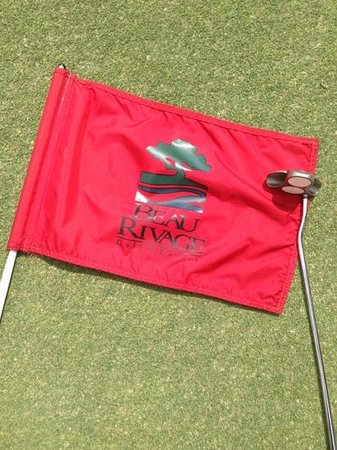 Beau Rivage Golf & Resort: Beau Rivage flag