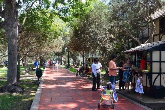 Sonesta Hotel El Olivar: El Olivar Park next  to the hotel