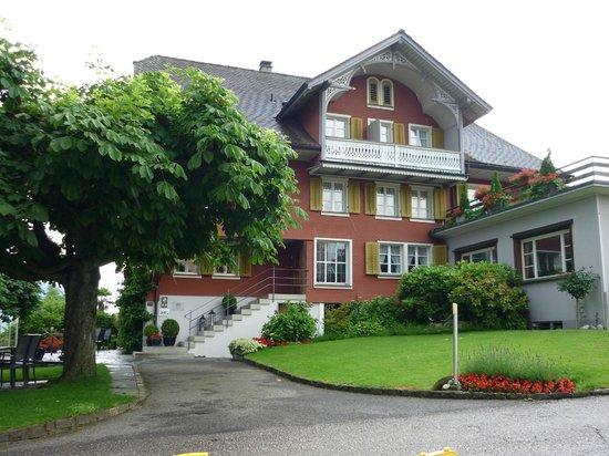 Hotel Friedheim: Hotel entrance (old part)