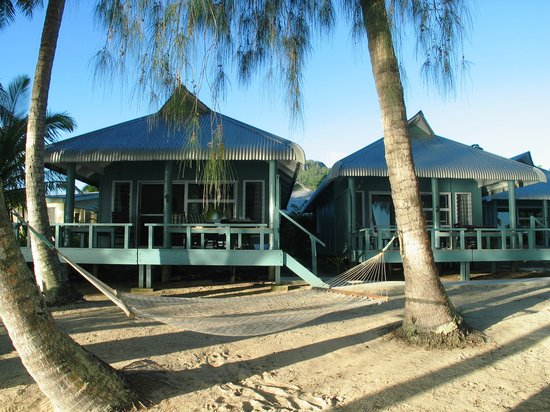 Sunhaven Beach Bungalows: Beachfront 1 bedroom bungalows from beach