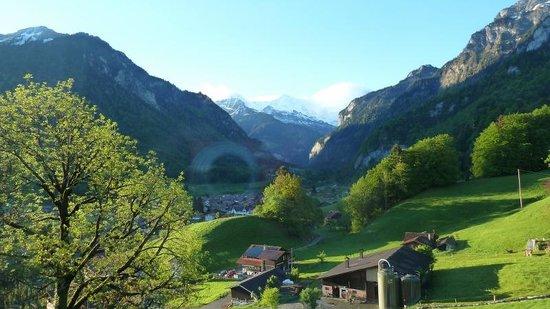 Hotel Berghof Wilderswil-Interlaken : View from our room