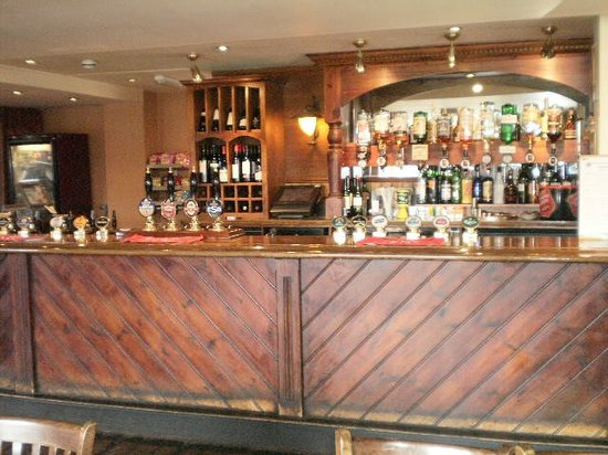 The Carpenters Arms: Bar