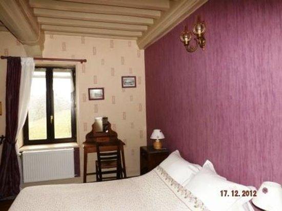 Chambres d'hôtes en Bourgogne : chambre Améthyste