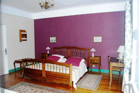 Chambres d'hôtes en Bourgogne : chambre Olivine