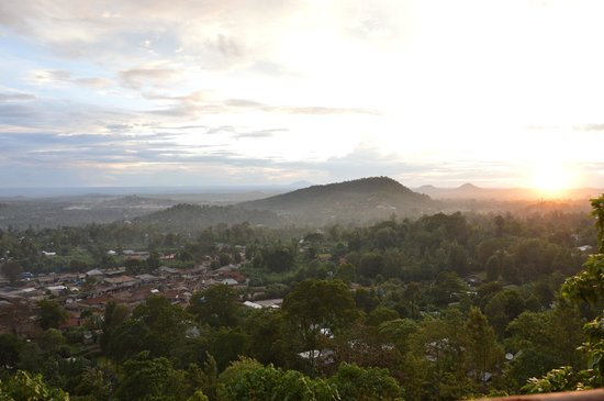 Arusha Hostel Lodge & Adventures: View of Arusha from AHLA