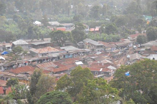 Arusha Hostel Lodge & Adventures: Close-up of Ngelelo setion below AHLA
