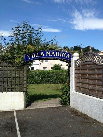 Villa Marina: Entrance