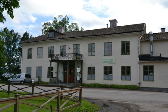 Dalarna County, Swedia: Hotel entrance