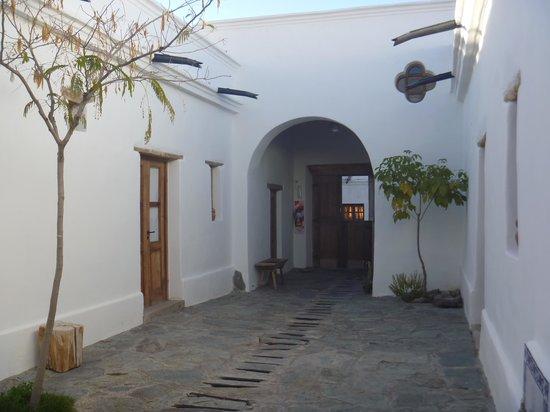 Casa de Te Tacuara: Patio Común...