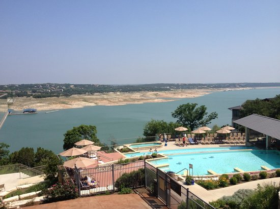 Lakeway Resort and Spa : Great pool and view