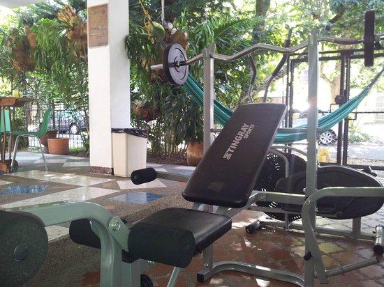 Hostel Casa Blanca: Gym