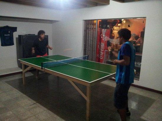 Hostel Casa Blanca: Ping Pong