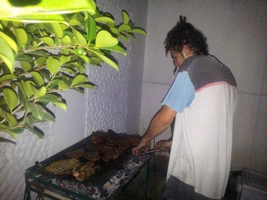 Hostel Casa Blanca : BBQ