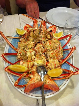 Solanas, Italia: Aragosta indimenticabile