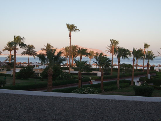 Baron Resort Sharm El Sheikh: view from room 241