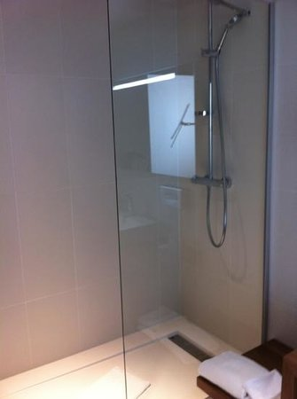 Mercure Cholet Centre Hotel : douche à l'italienne