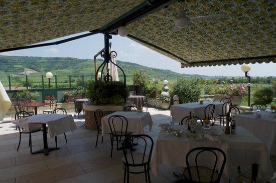 Ristorante Enoteca Bacco d'Oro : Outdoor Terrace