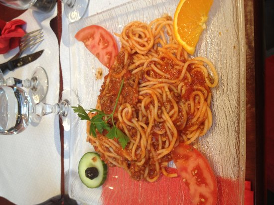 Pizzeria Di Roma: Spaghetti alla bolognese
