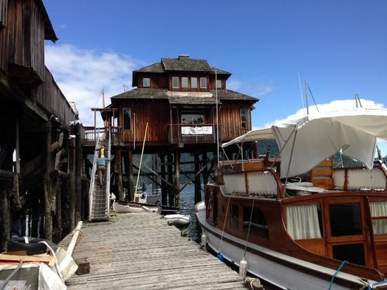 Cowichan Wooden Boat Society: Main dock at Museum