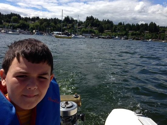 Cowichan Wooden Boat Society: On Cowichan Bay with Museum boat & motor