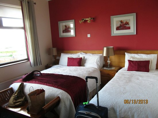 Freeport House Bed & Breakfast: Our room