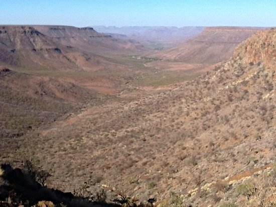 Grootberg Lodge: Spectacular view