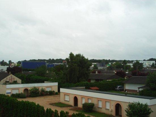 Kyriad Evreux - La Madeleine : View from room