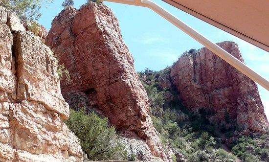 Verde Canyon Railroad: We were so close sometimes that you could almost reach out and touch