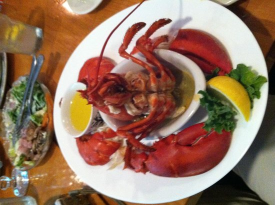 Yummy Lobster at The Helm